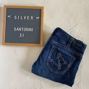 "Silver ""Santorini"" Jeans Size 31"